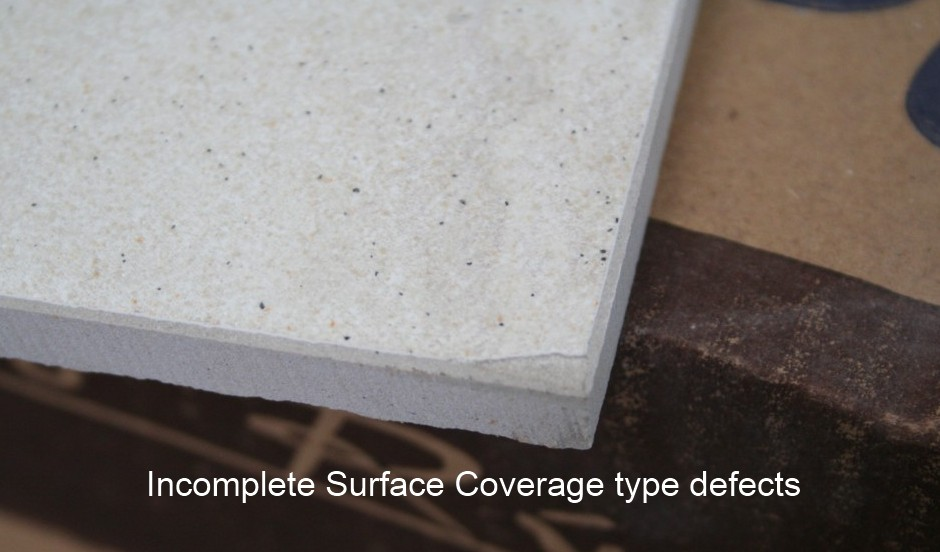 Surface defects