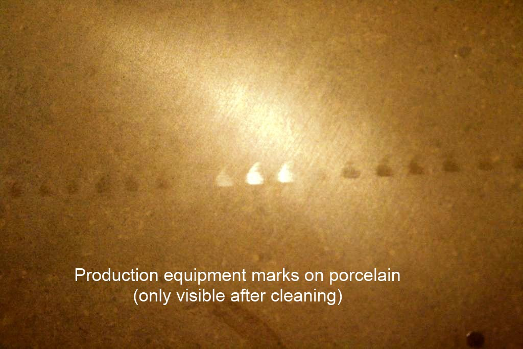 Porcelain Tile Defects